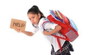 Los habitos de uso de la mochila comienzan desde la etapa escolar
